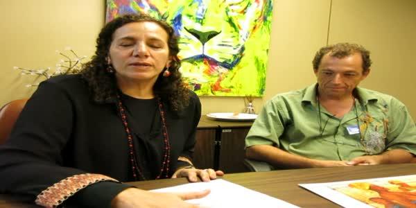 Jandira Feghali fala no dia nacional da cultura